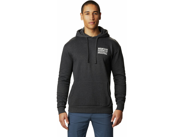 Mountain Hardwear Berkeley 93 Sudadera Capucha Hombre, heather black